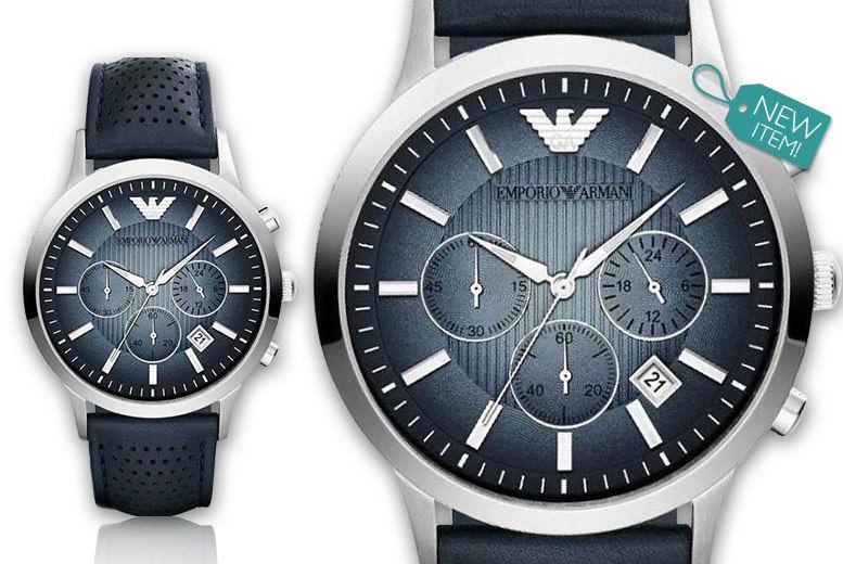 eac3417bfbf ... men s Emporio Armani AR2473 chronograph watch - save 52%. grey-kingdom- AR2473