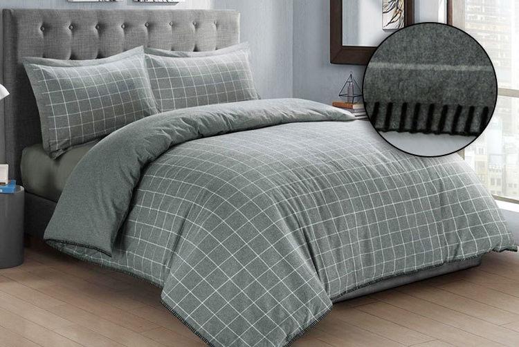 Melange Extravagance Flannelette Bedding Set   Shop   Wowcher