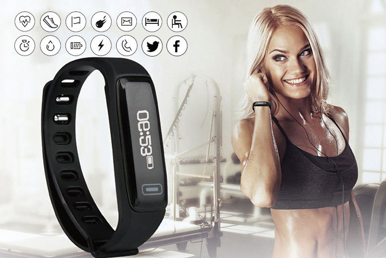 VeryFit Pro 14-in-1 Fitness Tracker with Heart Rate Monitor - 3