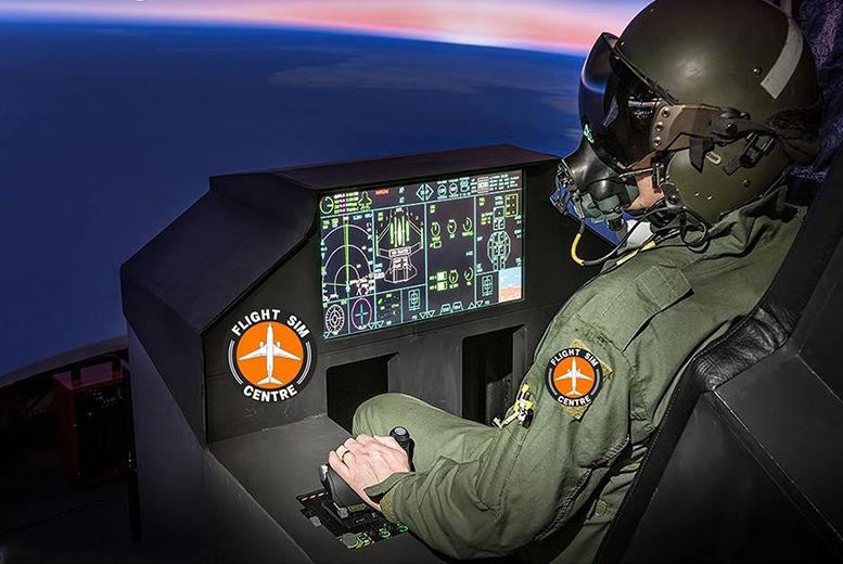 30min Fighter Pilot Flight Simulator for 1 or 2   Newcastle