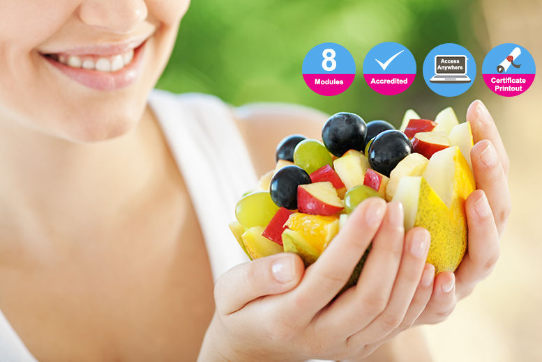 Accredited Online Nutrition Diploma Course | Shop | Wowcher