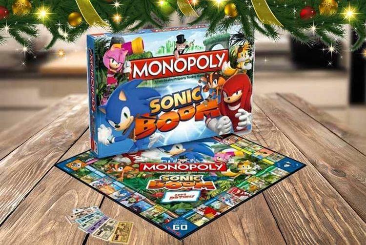 stortford toys ltd monopoly sonic boom edition - Sonic Hours Christmas Day