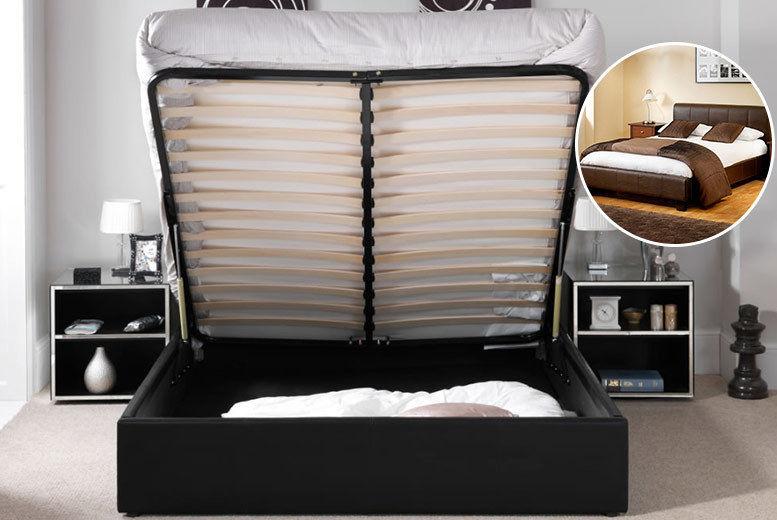Superb Storage Ottoman Bed London Dailytribune Chair Design For Home Dailytribuneorg