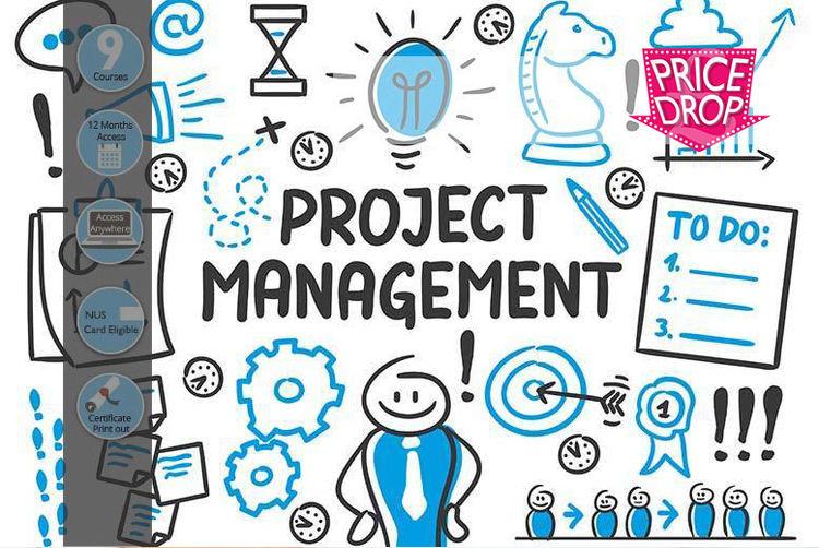 Project Management Master Certification Bundle 9 Courses Shop