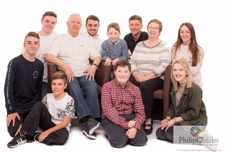 Large family photographs 1