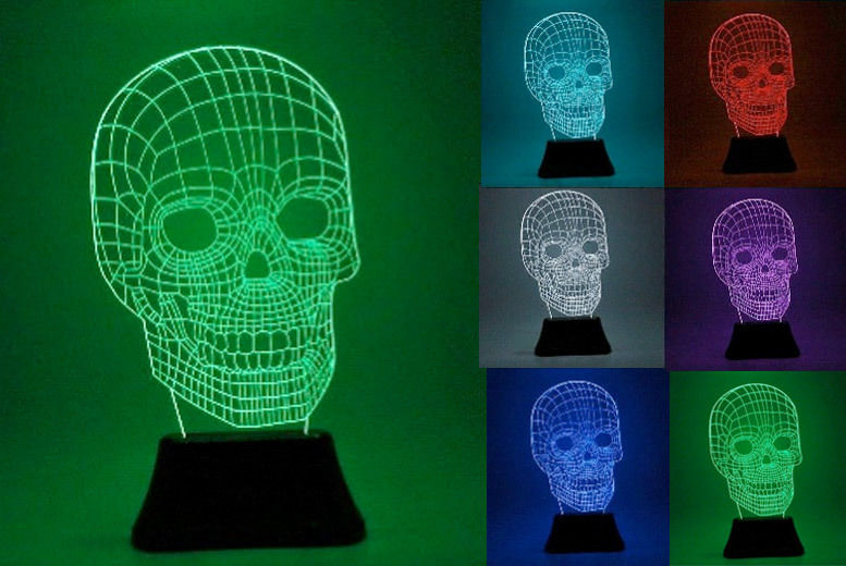 Sculpture Effect Light Led 3d Desk 2 DesignsShop Wowcher Lamp F1JTclK