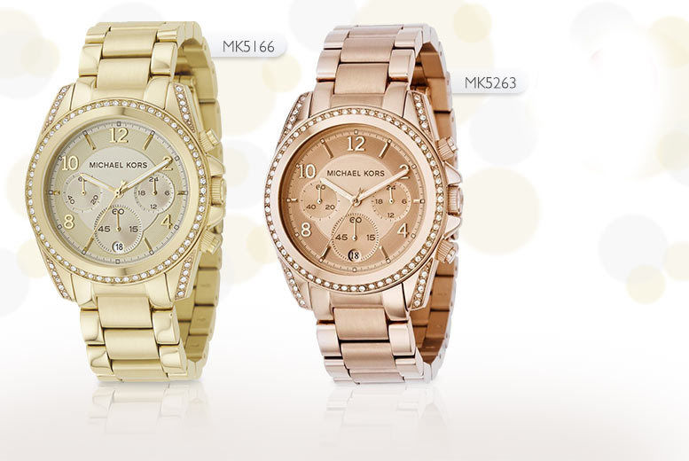547649883c7f From £139 for a ladies  Michael Kors bracelet watch - choose from six super  stylish designs and save up to 49%