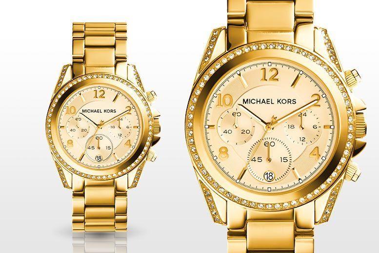1136debf09e3 Ladies  Michael Kors MK5166 Mini Blair Gold-Tone Watch