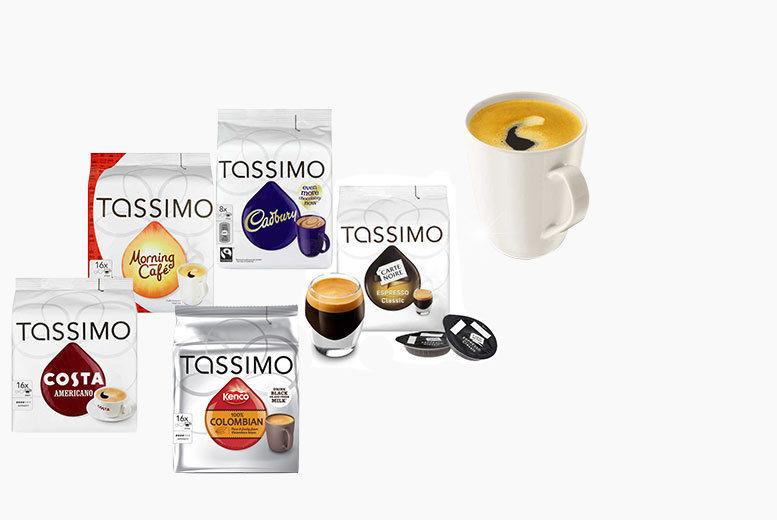 72 Tassimo T Disc Coffee Pods Shop Wowcher