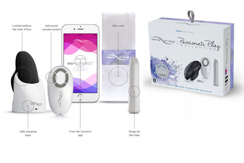 We-Vibe Passionate Play Collection inc  Limited Edition We