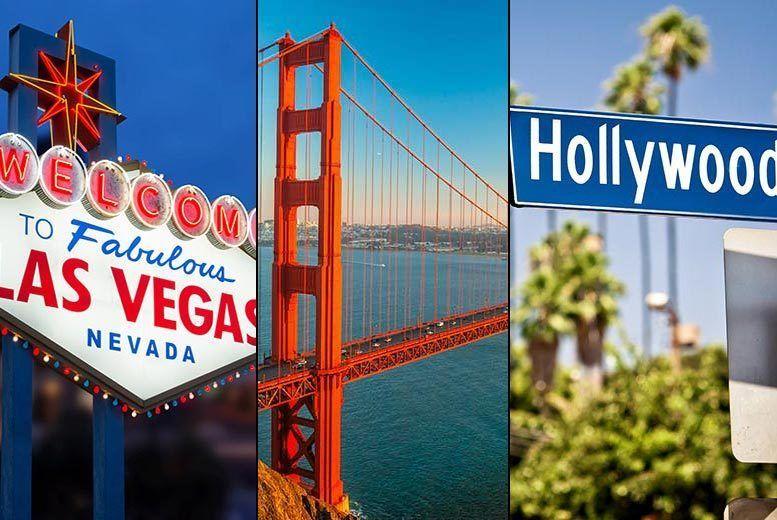8nt San Francisco, LA & Las Vegas + Return Flights Voucher £799pp | London  | Wowcher
