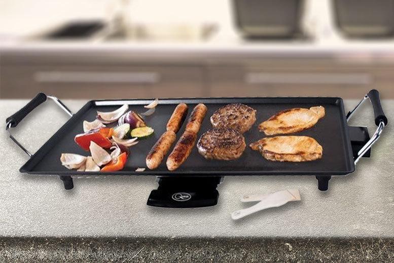 2kW Electric Teppanyaki Tabletop Grill | Shop | Wowcher