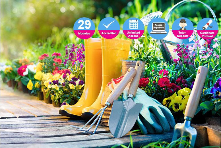 Certified Garden Design Maintenance Course Learning Deals In