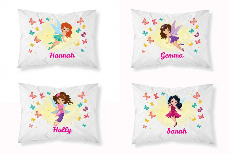 Kids' Personalised Fairy Pillowcase