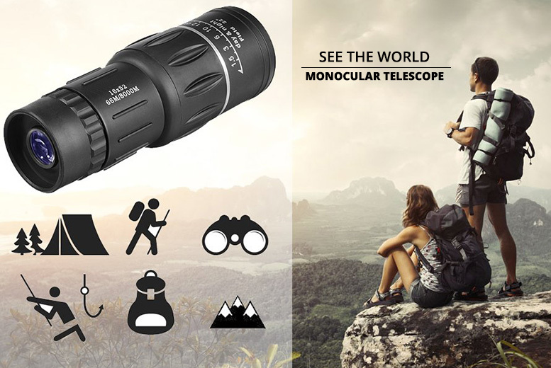 Dual focus zoom monocular telescope london east