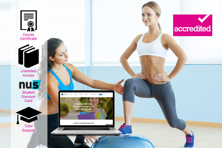 Accredited Online Personal Trainer Level 3 Course Shop Wowcher