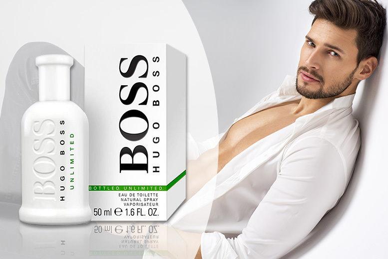 Hugo Boss Unlimited Eau De Toilette 50ml Shop Wowcher