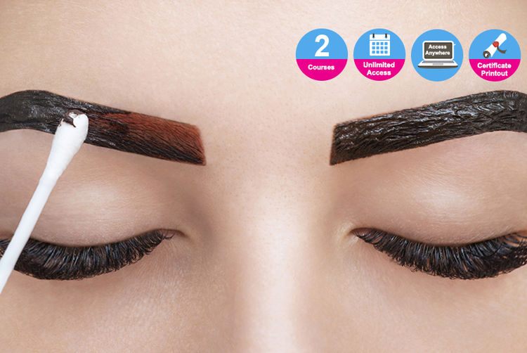 Indian Threading Techniques Lashbrow Tinting Courses Shop Wowcher