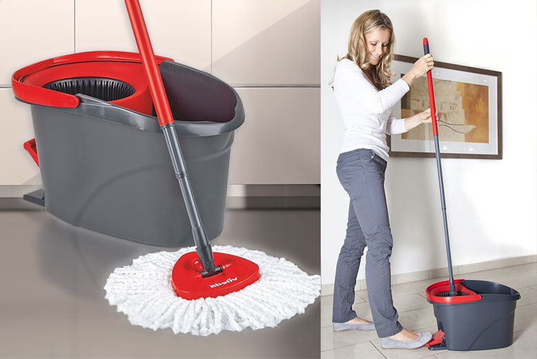 26 Instead Of 4999 From Groundlevel For A Vileda Microfibre Mop And Power Spin Wringer Bucket