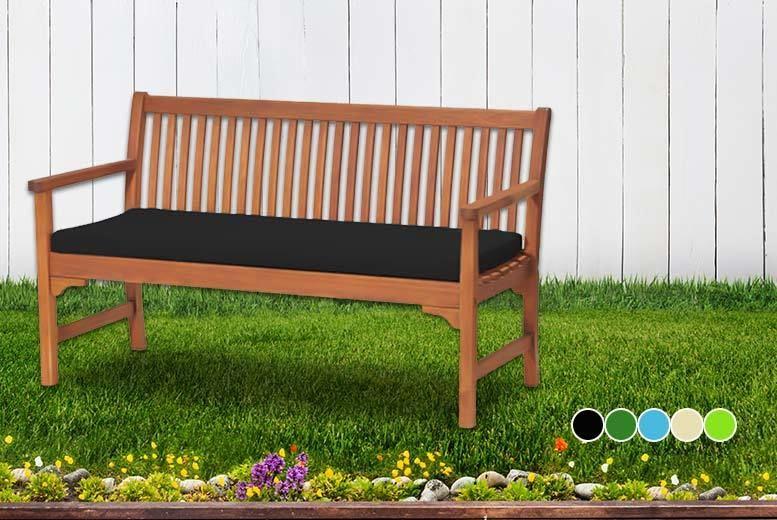 Waterproof Bench Cushion 5 Colours Shop Wowcher