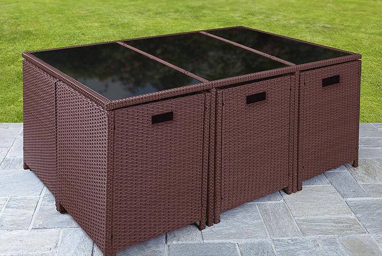 Rattan Cube Garden Furniture Shop Wowcher