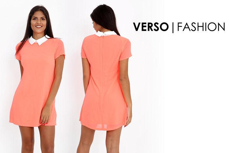a92fbb5fe15 Verso-Fashion-Ltd---Coral-Cap-Sleeve-Skater-