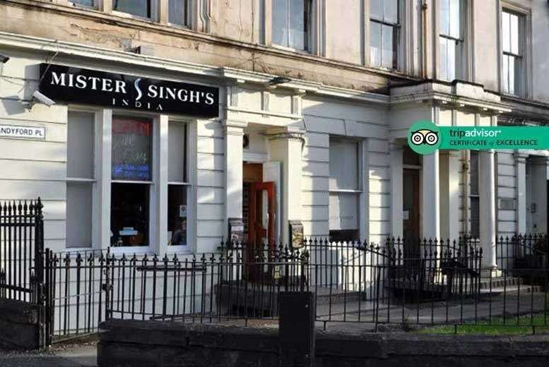 Mister Singh's India 7-Course Indian Dining For 2 Voucher £20