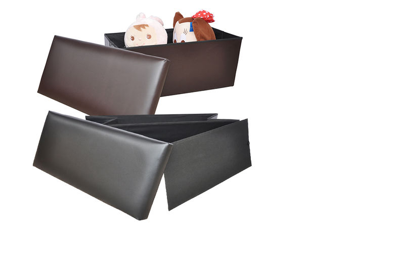 Swell 2 Seater Folding Ottoman Storage Bench 3 Colours Available Gamerscity Chair Design For Home Gamerscityorg