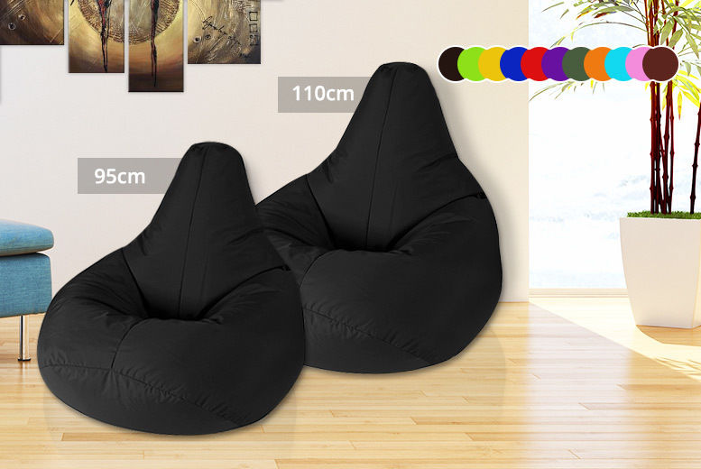 Pleasant Adult Highback Beanbag Chair 11 Colours 2 Sizes Home Unemploymentrelief Wooden Chair Designs For Living Room Unemploymentrelieforg