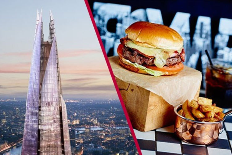 The Shard Entry & Meal | London | Wowcher