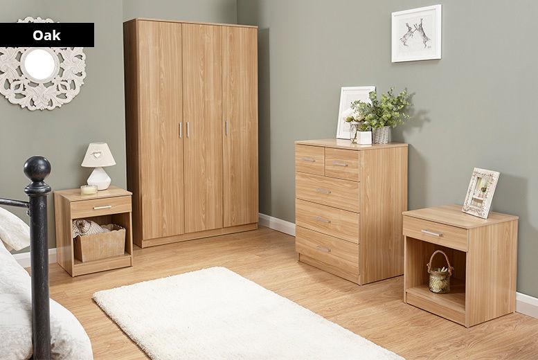 Frisco Bedroom Furniture Set - 4 Colours!