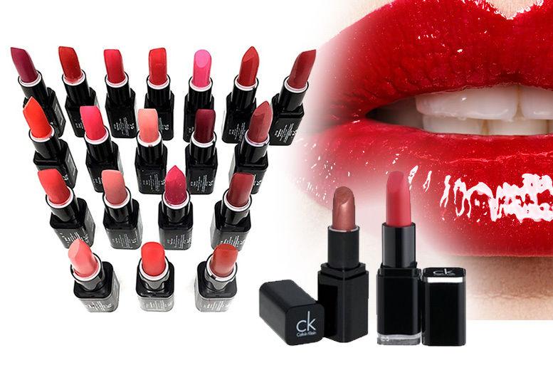bättre Nya produkter 100% kvalitet Calvin Klein Lipstick Set - 3, 6 or 12! | Makeup deals in London ...