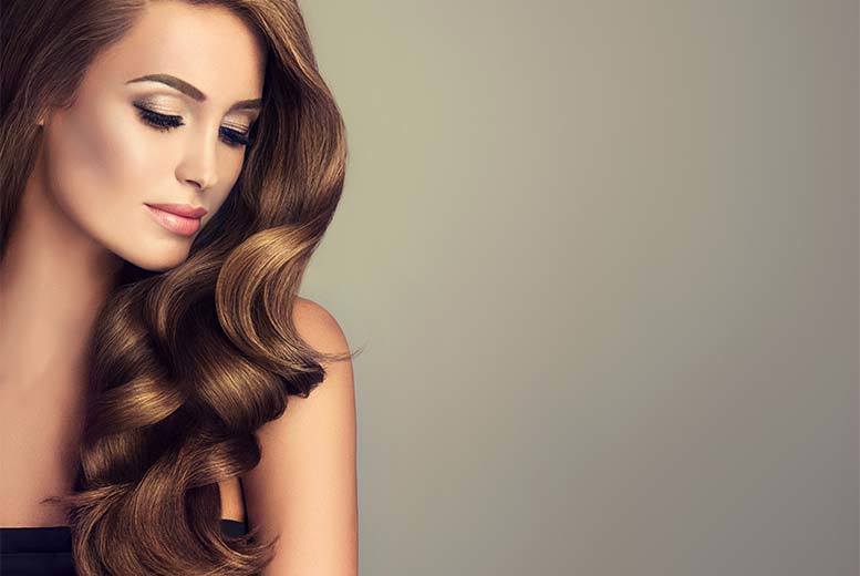 16 Half Head Hair Extensions Voucher 99 London Wowcher