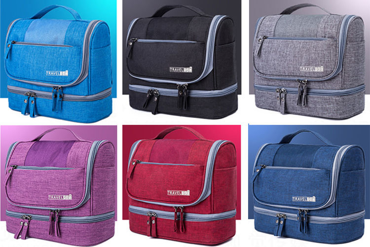Multi-Compartment Travel Bag - 6 Colours! | London South | Wowcher