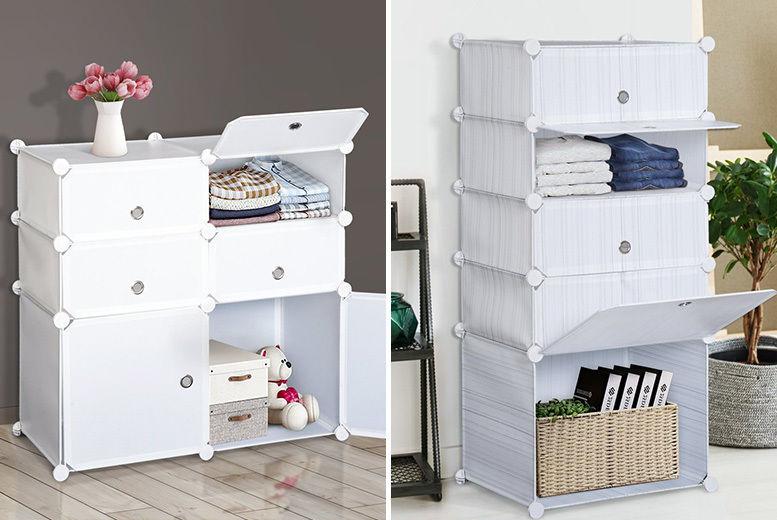 Lightweight Storage Unit 2 Styles Storage Solutions Deals In