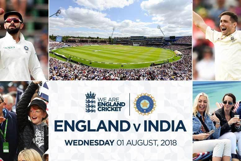 Edgbaston Cricket Stadium England v India Test Match Voucher £26