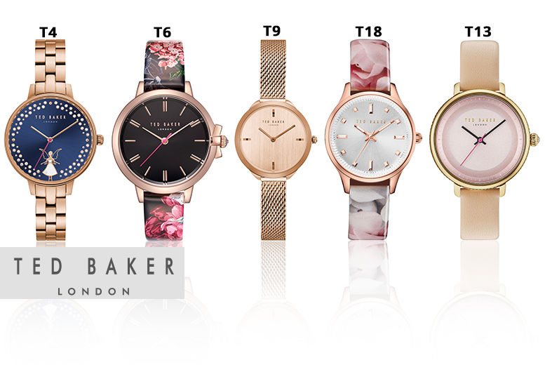 29d8db7c69d6 Ted Baker Ladies Watches - 18 Designs!