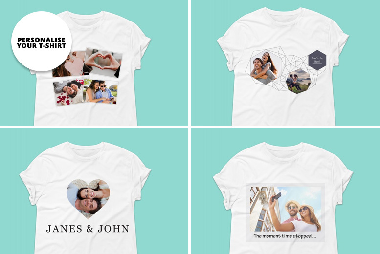 Personalised Gifts Market Personalised T-Shirt Voucher £6.99   Shop ...