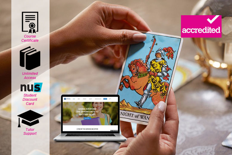 Accredited Tarot Reading Course | Teaching deals in Shop | Wowcher
