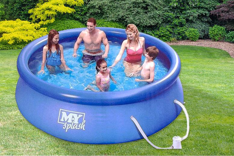Quick Set Ring Pool | Garden Leisure deals in Shop | Wowcher