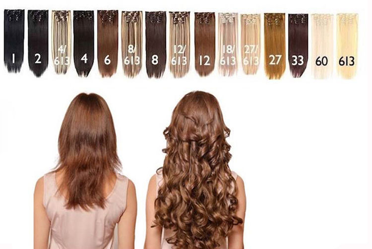 7pc Hair Extension Set Shop Wowcher