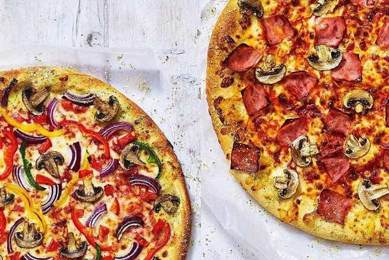 2 Large Pizza Hut Pizzas Liverpool Wowcher