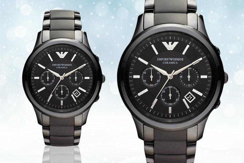 Men's Ceramic Emporio Armani AR1452 Watch