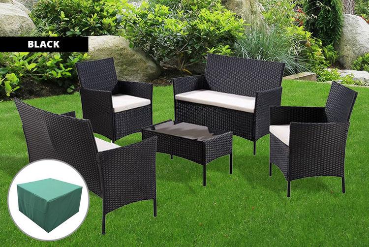 5pc Garden Furniture Set Shop Wowcher