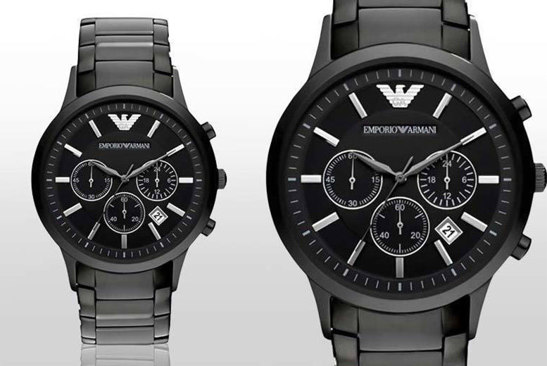 Men's AR2453 Emporio Armani Steel Watch