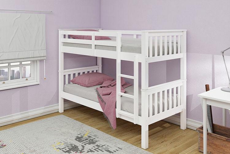 Wooden Oxford Bunk Bed Home Deals In Shop Wowcher
