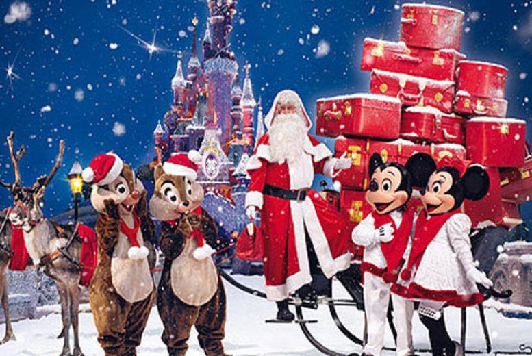 Christmas In Disneyland Paris.Disneyland Paris Eurostar Travel Wowcher