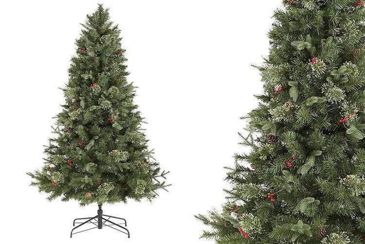 Tesco Luxury 6 5ft Pre Lit Regency Fir Christmas