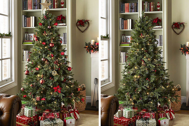 outlet store e1988 11340 6.5ft Christmas Tree | Shop | Wowcher