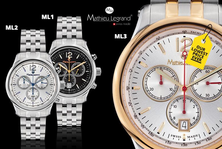 678c083d5dce Swiss-Made Mathieu Legrand  Classique  Watches - 3 Designs!